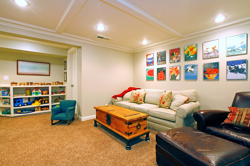 Play room-basement
