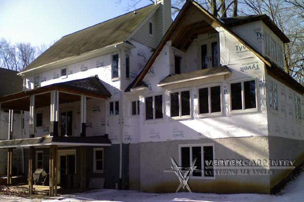 Exterior Construction Repair Vertex Carpentryvertex