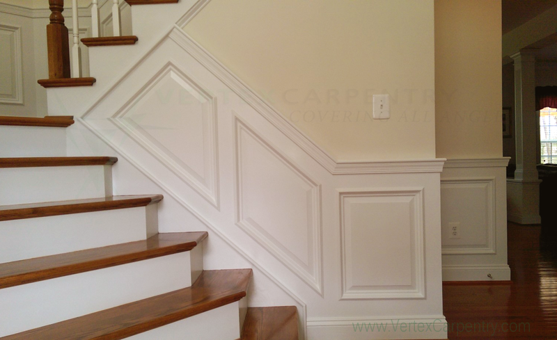 wainscoting, custom carpentry, Severna Park, Annapolis, MD, custom woodwork, Home beautification